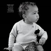 Filha de Kim Kardashian e Kanye West usa Chanel em revista de moda