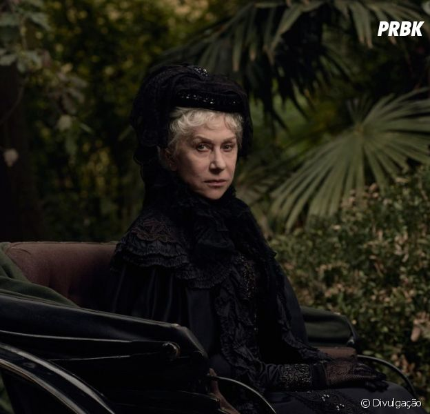"Em ""A Maldição da Casa Winchester"", Helen Mirren vive a atormentadaSarah Winchester"