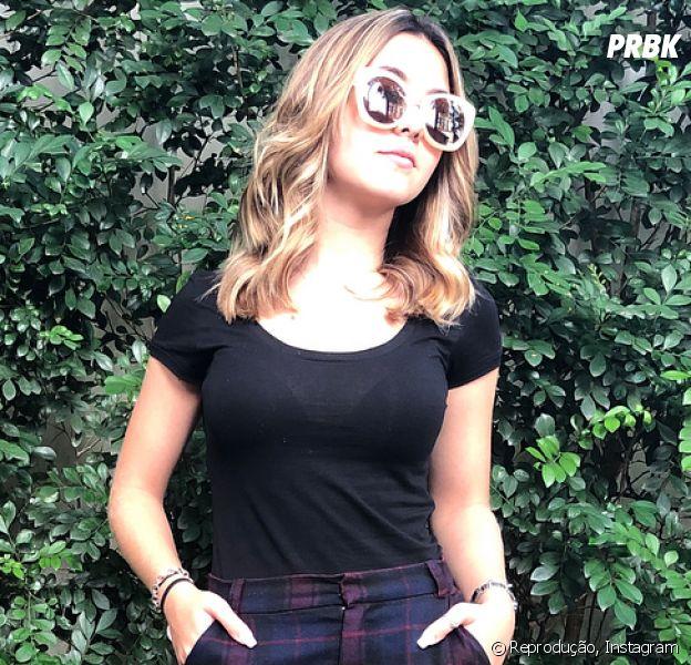Klara Castanho mostra mudança de visual e recebe elogios na web!