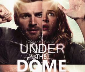 "Os protagonistas de ""Under The Dome"" são Dale 'Barbie' Bárbara (Mike Vogel), Angie McAlister (Britt Robertson), James 'Big Jim' Rennie (Dean Norris) e Julia Shumway (Rachelle Lefevre)"