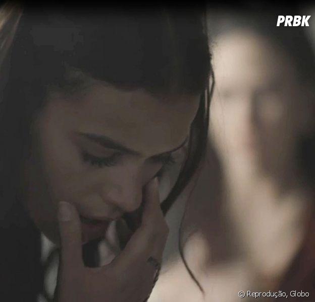 """Em """"Deus Salve o Rei"""", Lucrécia (Tatá Werneck) dá tapa em Catarina (Bruna Marquezine)"""
