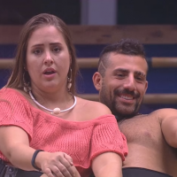 """Do """"BBB18"""", Gleici é criticada por Patrícia e Diego sobre votos: """"Marionete"""""""