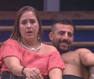 """No """"BBB18"""", Patrícia, Diego, Kaysar e Caruso criticam Gleici por votos na casa"""