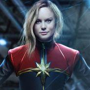 """De """"Capitã Marvel"""": Brie Larson aparece com uniforme pela 1ª vez! Confira"""