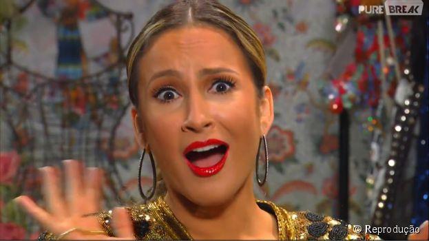 """No """"The Voice Brasil"""", Claudia Leitte se desespera ao procurar o botão!"""