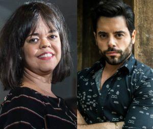 """Em """"O Outro Lado do Paraíso"""": Amaro (Pedro Carvalho) se declara para Estela (Juliana Caldas) e a professora aceita casar com ele"""