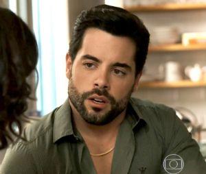 """Em """"O Outro Lado do Paraíso"""": Amaro (Pedro Carvalho) volta a enxergar e pede Estela (Juliana Caldas) em casamento"""