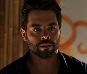 """Em """"O Outro Lado do Paraíso"""": Amaro (Pedro Carvalho) volta a enxergar e se declara para Estela (Juliana Caldas)"""