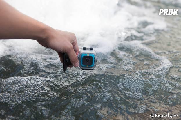 266e77de12c45 Nova câmera Polaroid Cube vai concorrer com Go Pro por metade do ...