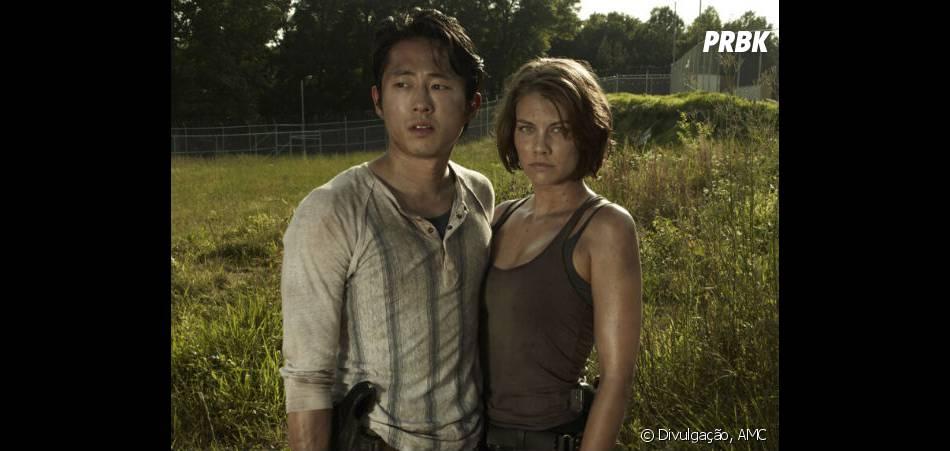 """Intérprete de Maggie em """"The Walking Dead"""",  Lauren Cohan gostaria de ver sua personagem morrer ao lado do amado"""
