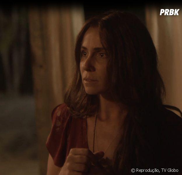 """Em """"Segundo Sol"""", Luzia (Giovanna Antonelli) mata ex-marido durante briga e resolve fugir"""