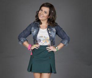 """Antes de focar na carreira de apresentadora, último papel na TV de Fernanda Souza foi em """"Escolinha do Professor Raimundo"""""""