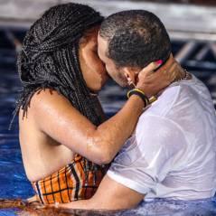 """Novela """"Malhação"""": Sol empurra Wallace na piscina e os dois acabam se beijando!"""