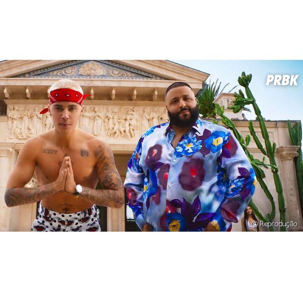 Justin Bieber e DJ Khaled vão lançar nova parceria juntos!