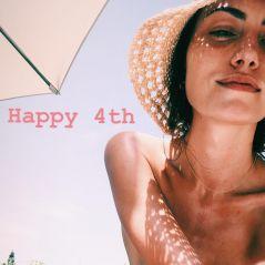 """Phoebe Tonkin, de """"The Originals"""", faz topless em piscina durante feriado americano"""