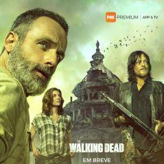 """""""The Walking Dead"""": 9ª temporada ganha poster com Rick, Maggie e Daryl!"""