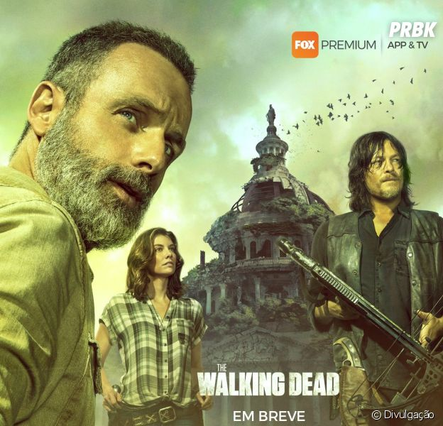 """O primeiro poster da 9ª temporada de """"The Walking Dead"""""""