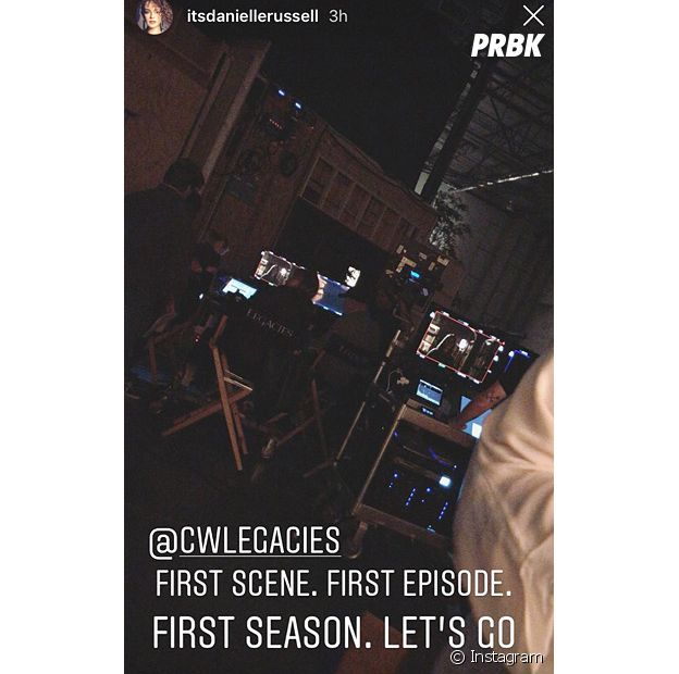 """""""Legacies"""": Danielle Russell começa a gravar série derivada de """"The Originals"""" e """"The Vampire Diaries"""""""