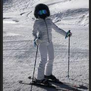 Anitta aproveita folga para esquiar no Chile com o marido e amigos