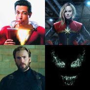 """""""Capitã Marvel"""", """"Vingadores 4"""", """"Venom"""" e mais filmes de heróis que estreiam até 2020!"""