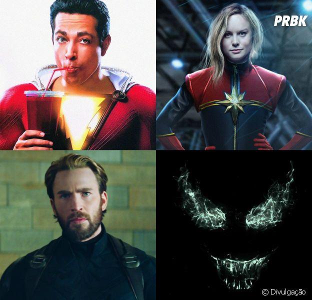 """""""Venom"""", """"Aquaman"""", Vingadores 4"""" e todos os filmes de heróis que vão estrear até 2020!"""