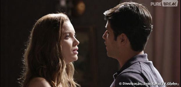 """Silvia (Nathalia Dill) ficará grávida de Franz (Bruno Gagliasso) em """"Joia Rara"""""""