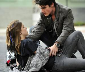 """Na temporada 2012 de """"Malhação"""", Lia, a personagem de Alice Wegmann, era par romântico de Vitor (Guilherme Leicam)"""