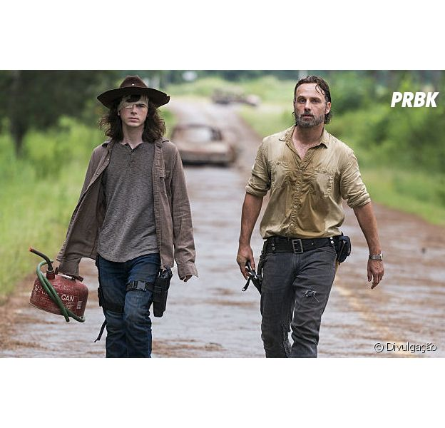 """De """"The Walking Dead"""", Chandler Riggs diz que está ansioso para continuação da série sem ele"""