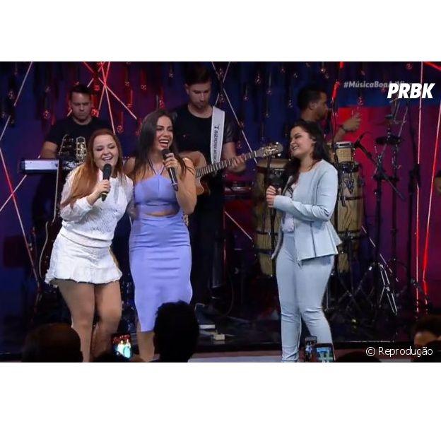 É confirmada a parceria entre Anitta e a dupla Maiara & Maraisa! A cantora participará da gravação de DVD da dupla