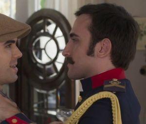 """Em """"Orgulho e Paixão"""", Luccino (Juliano Laham) e Otávio (Pedro Henrique Müeller) sempre demonstraram que se amavam"""