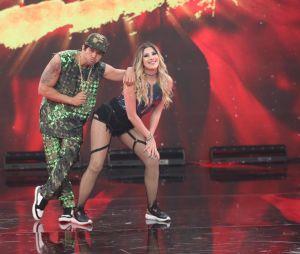 Dança dos Famosos 2018: apesar do pouco tempo de treino,Dani Calabresa e Reginaldo mandaram muito bem