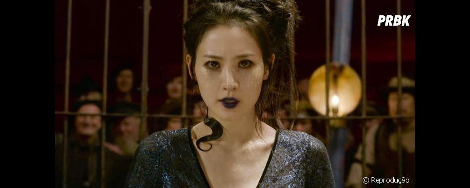 """J.K. Rowling escolheu Claudia Kim para interpretar Nagini em""""Animais Fantásticos: Os Crimes de Grindewald"""""""