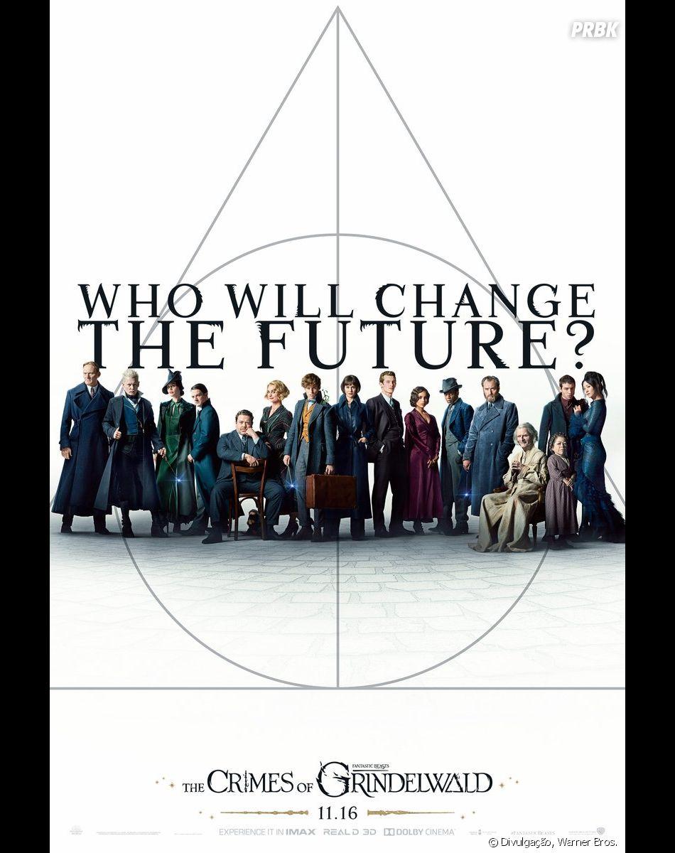 """J.K. Rowling diz que escolha de atriz asiática condiz com personagem em""""Animais Fantásticos: Os Crimes de Grindewald"""""""