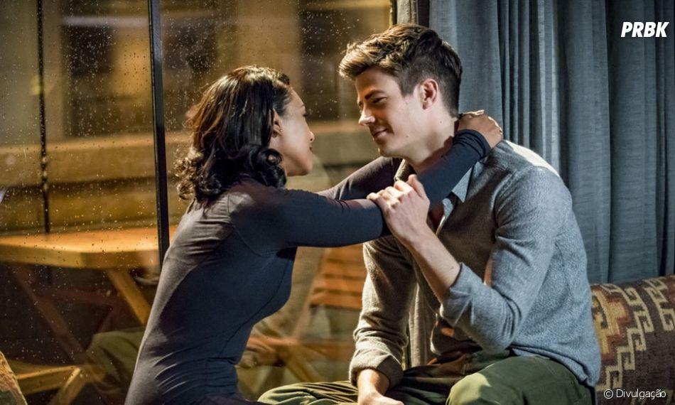 """Em """"The Flash"""", Nora (Jessica Parker Kennedy) é filha de Barry (Grant Gustin) e Iris (Candice Patton)"""