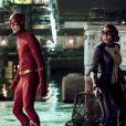 """Em """"The Flash"""", Barry (Grant Gustin) e Nora (Jessica Parker Kennedy) vão tentar combater o mal juntos"""