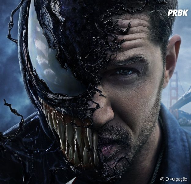 """Filme """"Venom"""": Tom Hardy parece se divertir na produção, mas sua atuação poderia ter sido mais bem aproveitada"""
