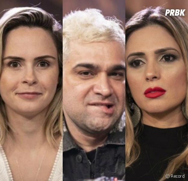 """Ana Paula Renault, Nadja Pessoa e Evandro Santo formam a terceira Roça em """"A Fazenda 10"""". Quem você quer que saia?"""