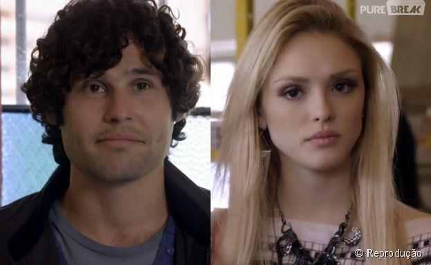 """Em """"Geração Brasil"""", Arthur (Dudu Azevedo) vai ajudar Megan (Isabelle Drummond)"""