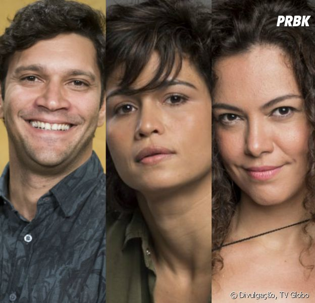 """Em """"Segundo Sol"""": Maura (Nanda Costa), Ionan (Armando Babaioff) e Selma (Carol Fazu) não vão ficar juntos afinal"""