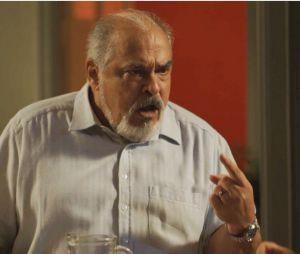 """Em """"Segundo Sol"""": Agenor (Roberto Bonfim) ficará cego na reta final da novela"""