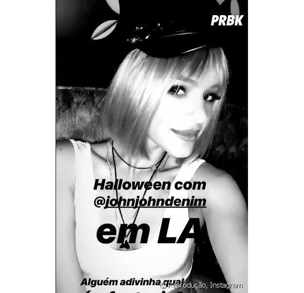 Bruna Marquezine foi uma das fantasias no Halloween