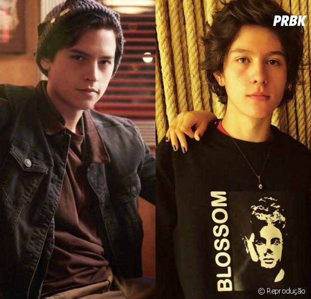 """E aí, na sua opinião, o Nicholas Arashiro, namorado de Maisa, é parecido com o Cole Sprouse, de """"Riverdale""""?"""