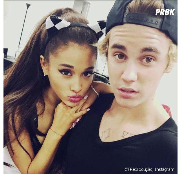"""Justin Bieber está que nem a gente: apaixonado por """"thank u, next"""", de Ariana Grande"""