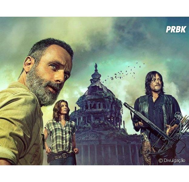 """""""The Walking Dead"""" já tem uma 10ª temporada em desenvolvimento"""