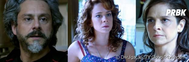 José Alfredo (Alexandre Nero) e Cristina (Leandra Leal) se unirão contra Cora (Drica Moraes)