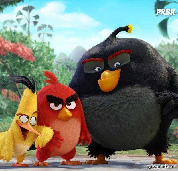 """Filme do """"Angry Birds"""" chega aos cinemas em junho de 2016"""