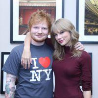 Ed Sheeran afirma que gravou outros duetos com Taylor Swift