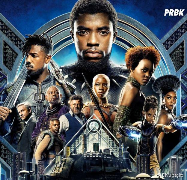 """Globo de Ouro 2019: """"Pantera Negra"""" é o primeiro filme de super-herói a concorrer na categoria de Melhor Drama!"""