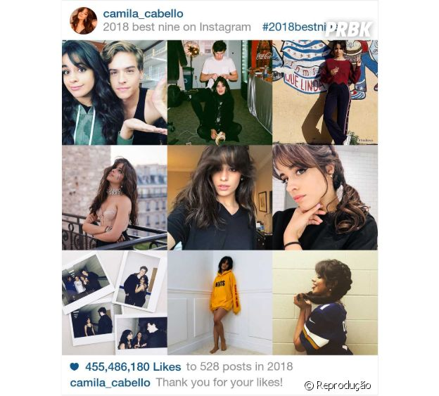 """2018 Best Nine"" de Camila Cabello"