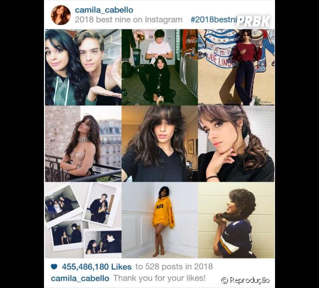 """2018 Best Nine"" de Camila Cabello"